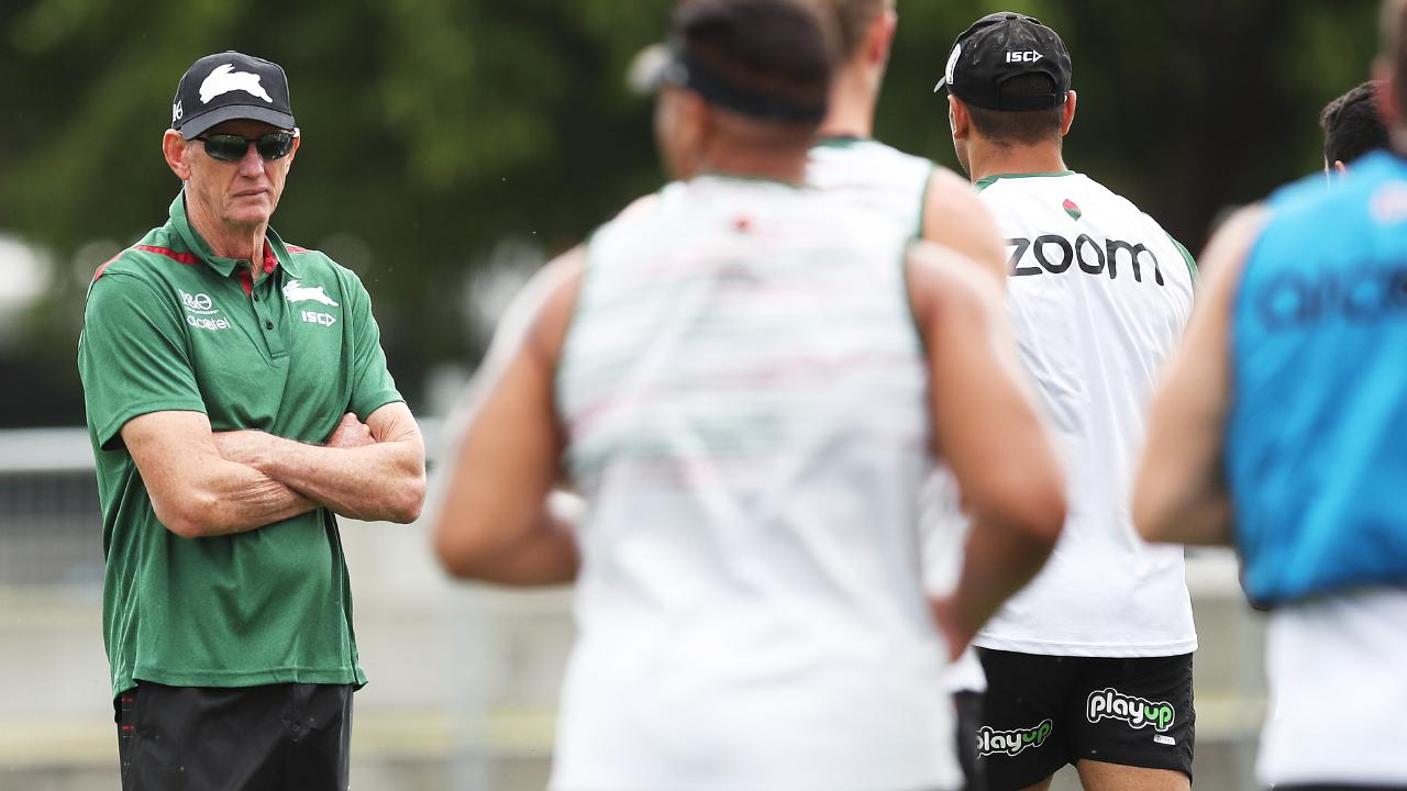 Wayne Bennett arrived at the Rabbitohs with a chip on his shoulder. Picture: Phil Hillyard