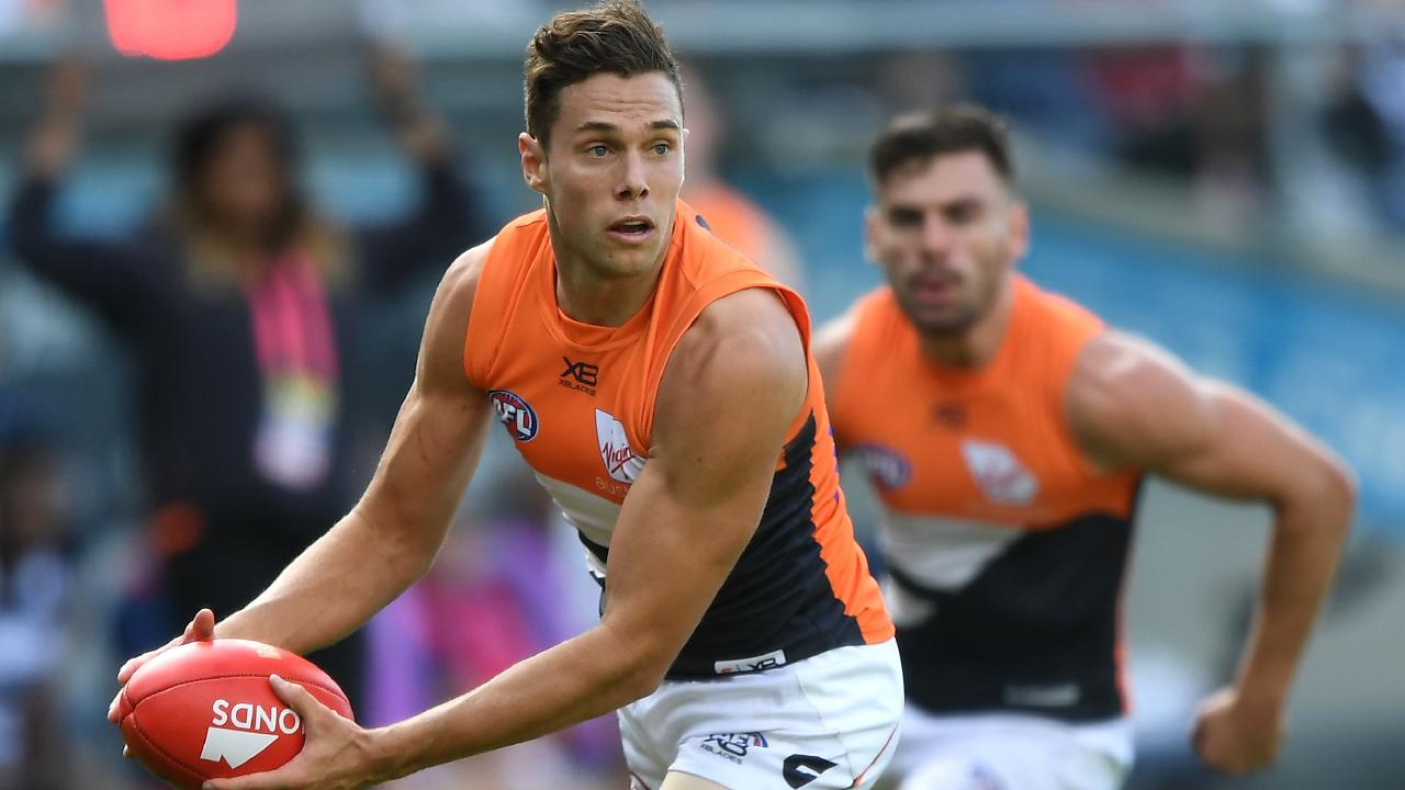 With Josh Kelly's deal done, the Giants will be hoping Stephen Coniglio is next. Picture: AAP Images