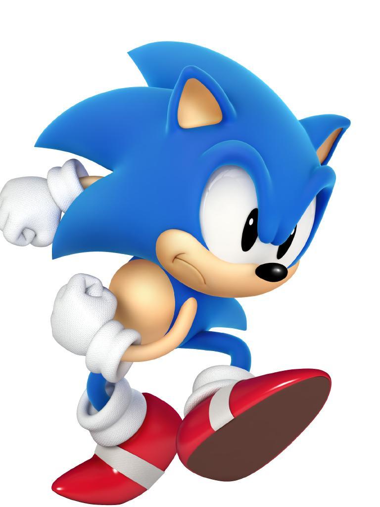 Classic Sonic.