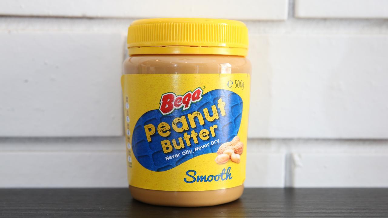 Bega peanut butter. Picture: Peter Ristevski