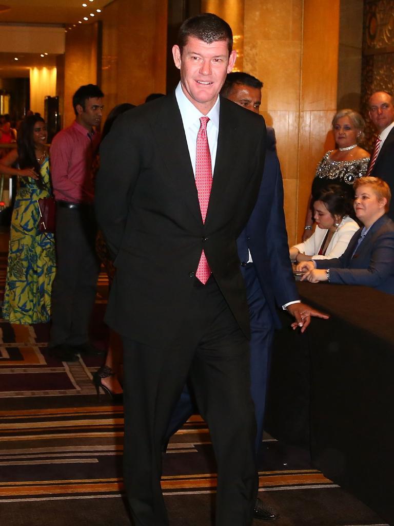 James Packer shedded the kilos after 2011.