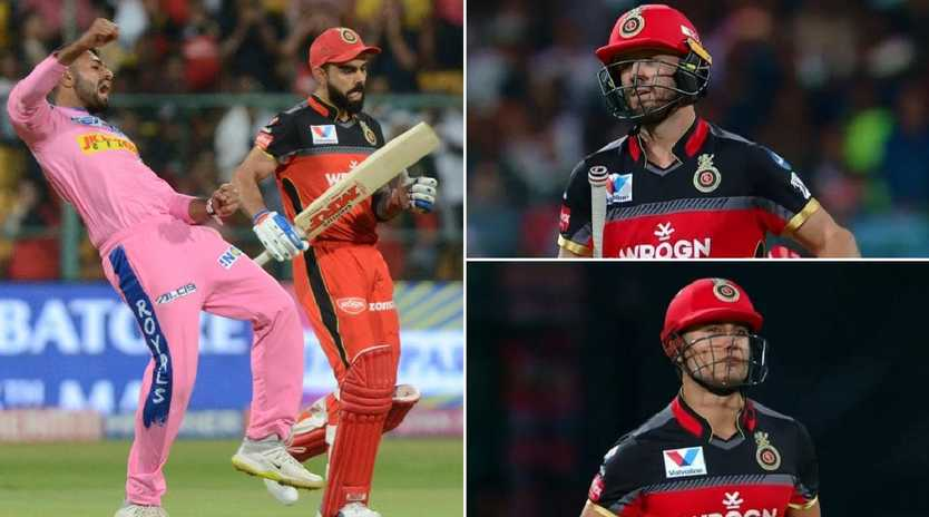 Shreyas Gopal removed Virat Kohli, AB de Villiers and Marcus Stoinis across three deliveries.