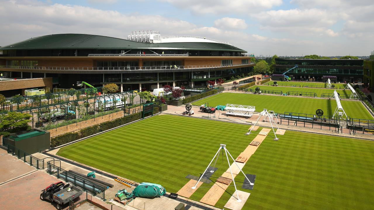 The new Court One at Wimbledon will be shown off to the world in June.