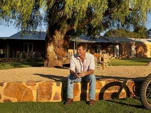 Couple's love of viticulture creates fairytale ending