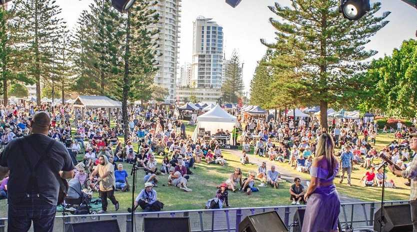 FREE AND FABULOUS: This is how last year's Blues on Broadbeach looked from one of the stages. There are 20 stages in all this Thursday, May 16, to Sunday, May 19, with a huge line-up of international and local stars.