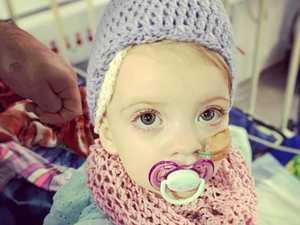 'Grapefruit' size tumor found on brave toddler's kidney