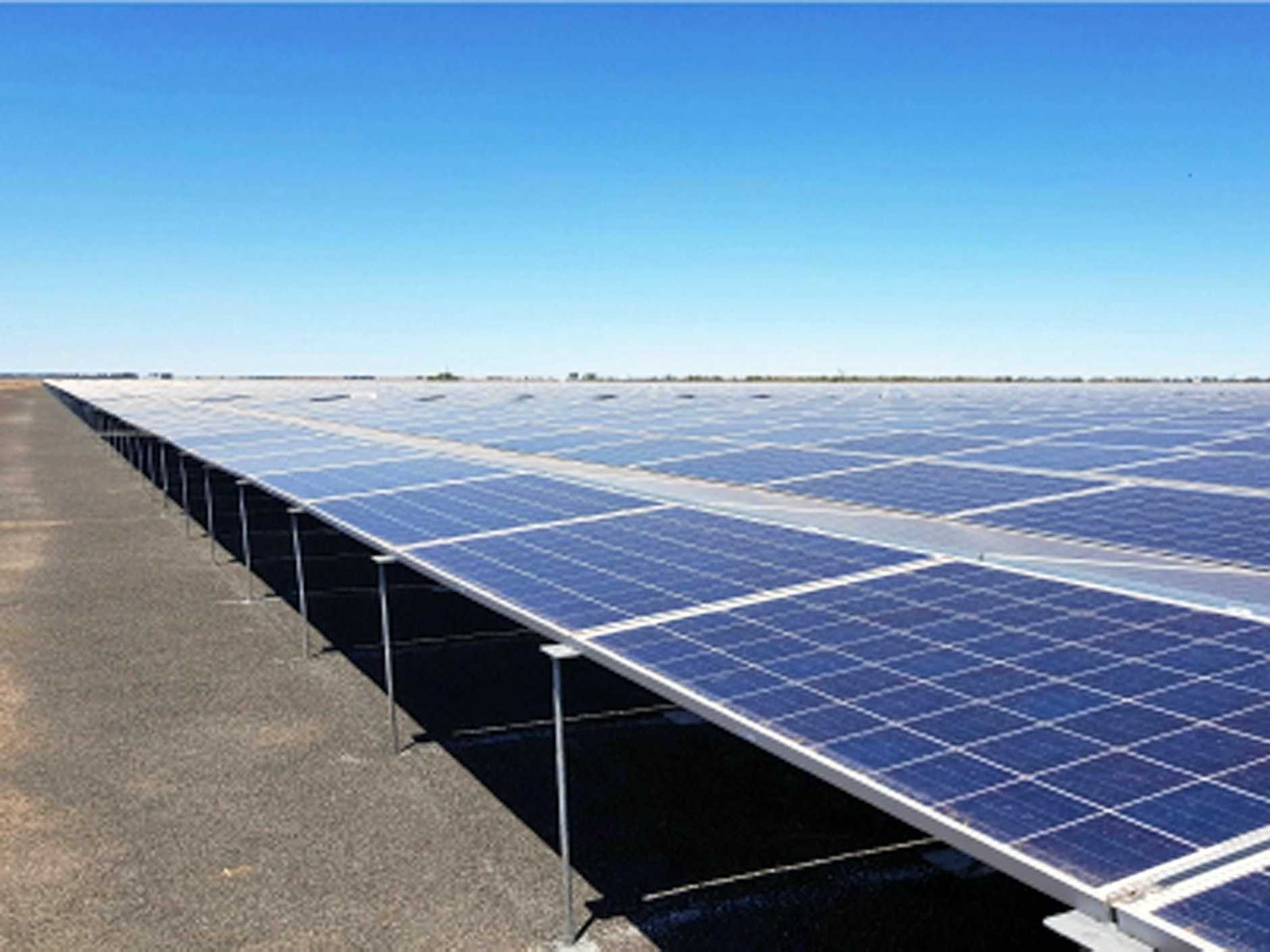A development application has been lodged with Byron Shire Council for a $6.5 million solar farm at Tyagarah.