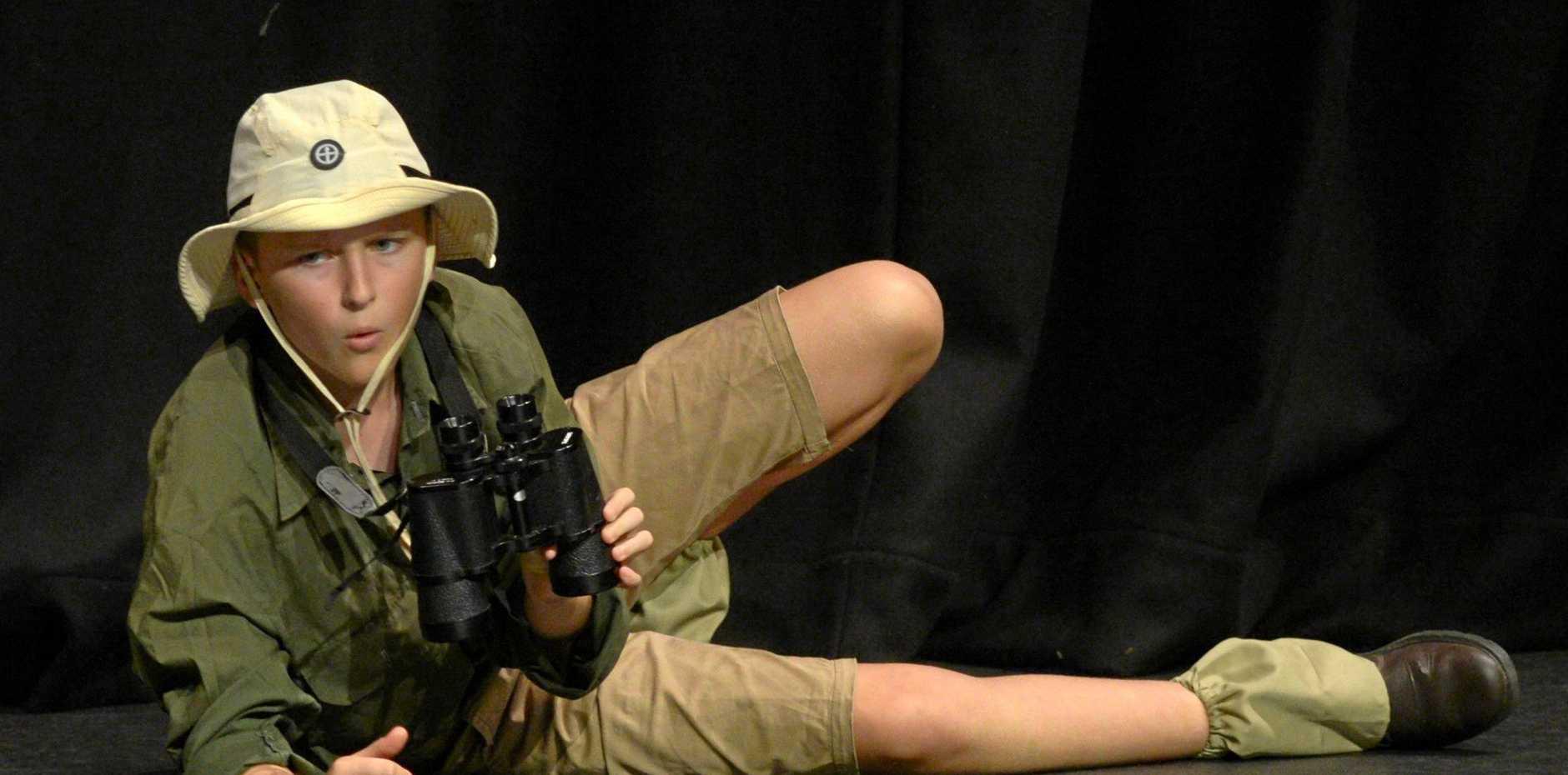 Lewis Christiansen in Section 369 - Character Recital in Costume Girls/Boys 10&U12 yrs (Rebecca Geldard trophy)