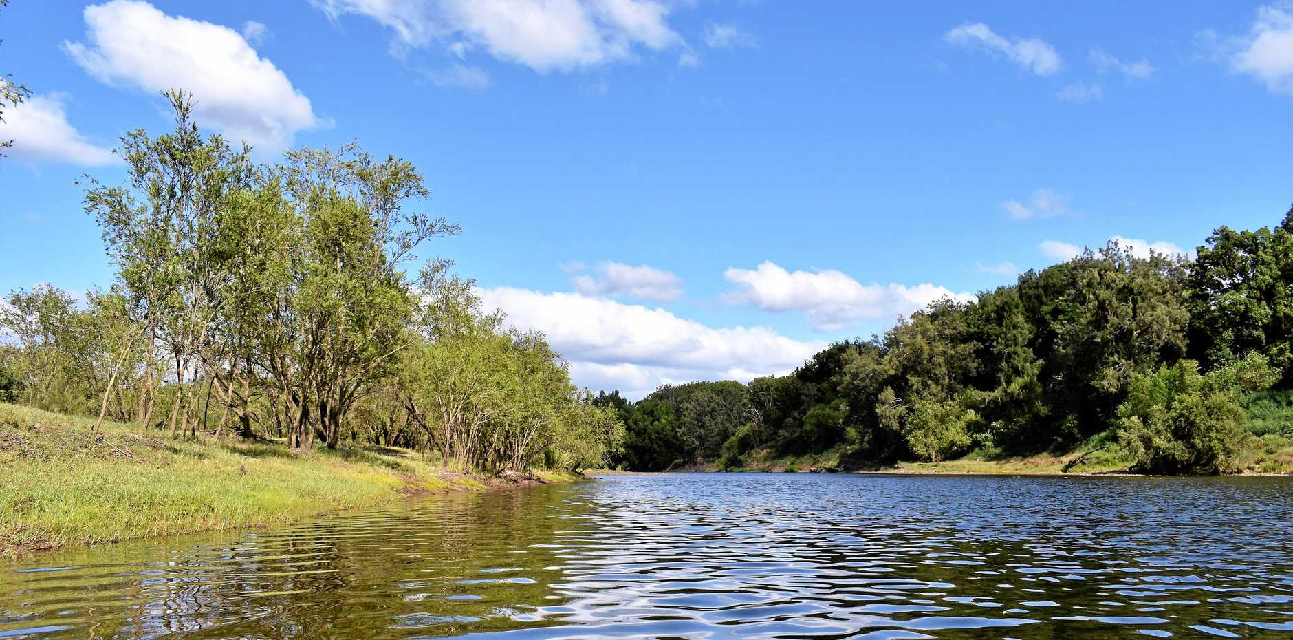 PRECIOUS RESOURCE: There are no plans to dam the Clarence River, says Kevin Hogan