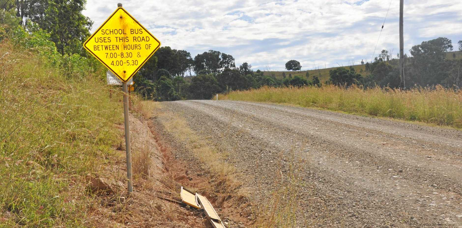 HAZARDOUS: The section of Monto-Gladstone Road from Kalpowar to the range will hopefully soon be sealed.