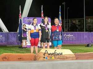 Plunkett claims nine medals at Arafura Games