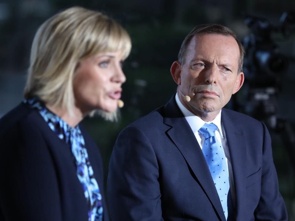 The crowd kept heckling and booing throughout the debate. Picture: Damian Shaw