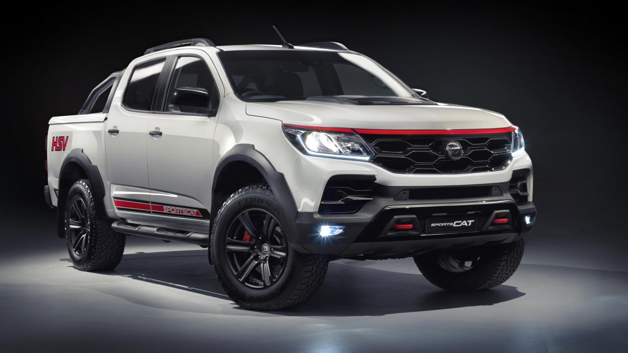 HSV SportsCat RS: Beefed up rival for the Ford Ranger Wildtrak.
