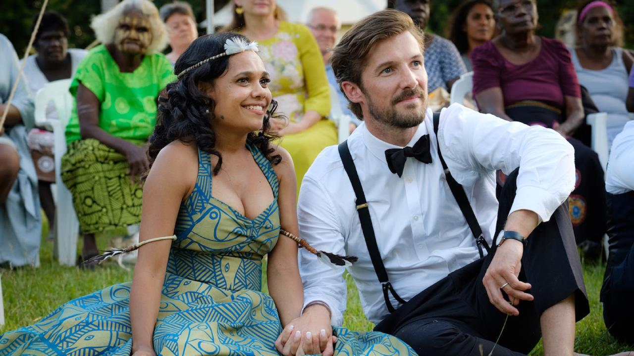Miranda Tapsell co-wrote, produced and starred in Top End Wedding