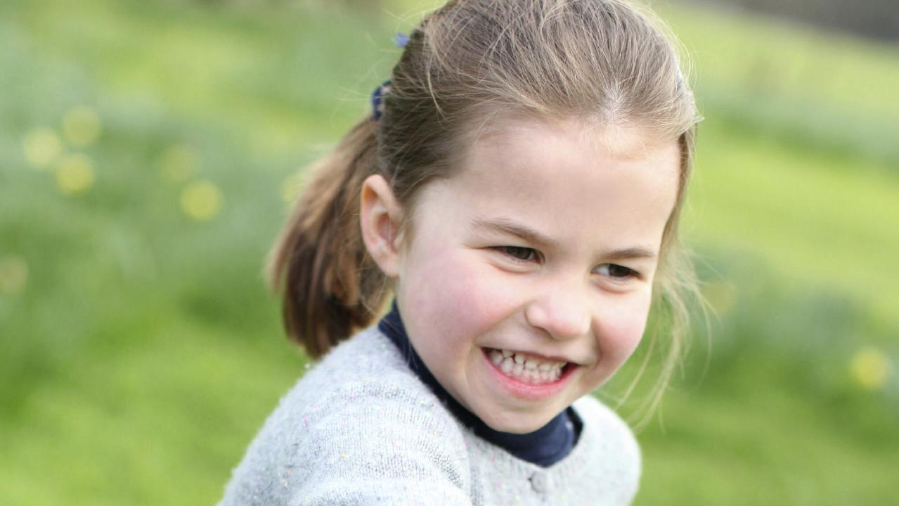 Princess Charlotte features in three new photos released by Kensington Palace. Picture: Duchess of Cambridge/Kensington Palace via AP