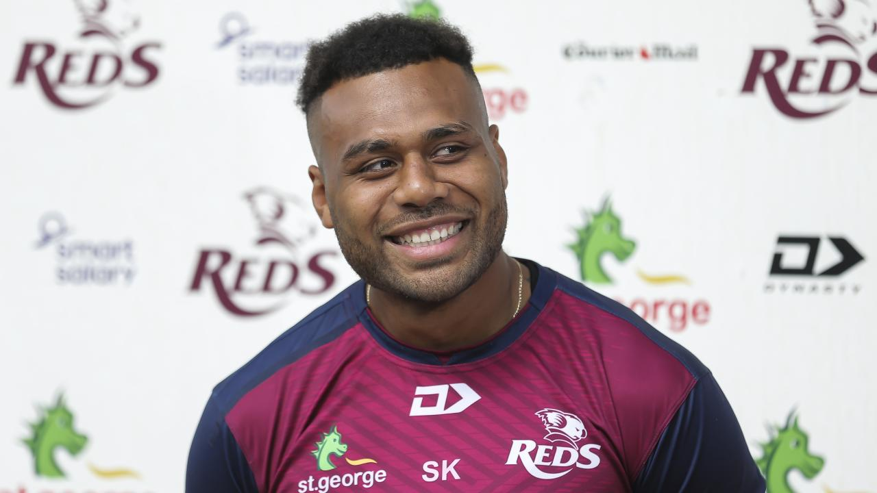 Samu Kerevi is hitting his prime. Picture: Mark Cranitch