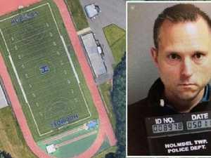 Mystery school pooper sues cops