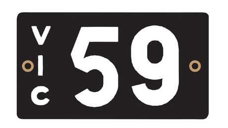 Heritage Victorian number plate sells for $535,000.
