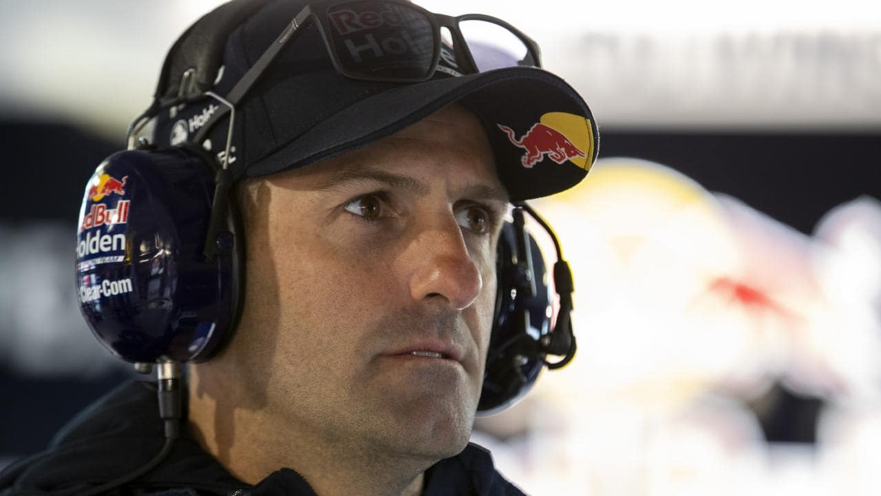 Jamie Whincup is languishing in ninth place in the V8 Supercar standings.