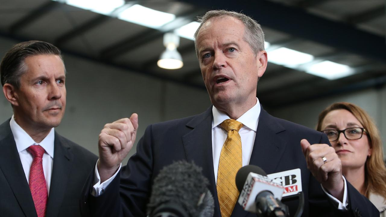 Opposition Leader Bill Shorten is eyeing several marginal Coalition seats in the battleground state of Queensland. Picture Kym Smith