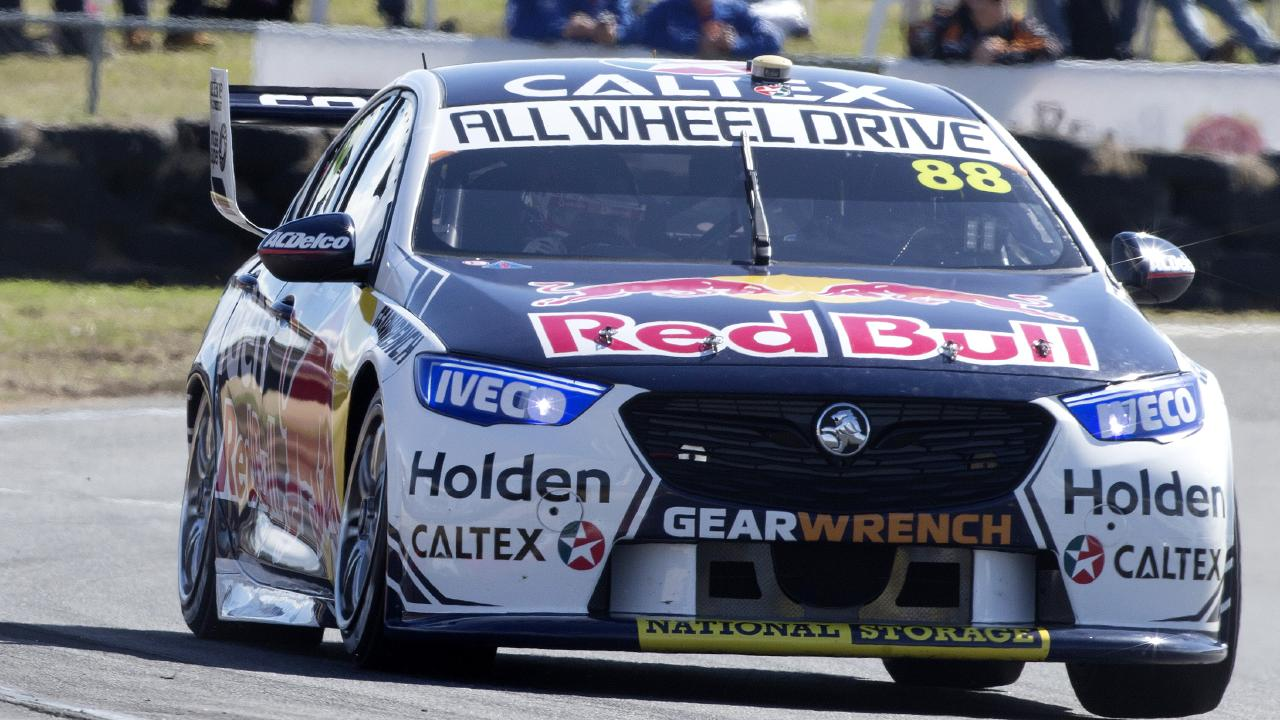 Jamie Whincup has a bit of catching up to do in Perth this weekend.