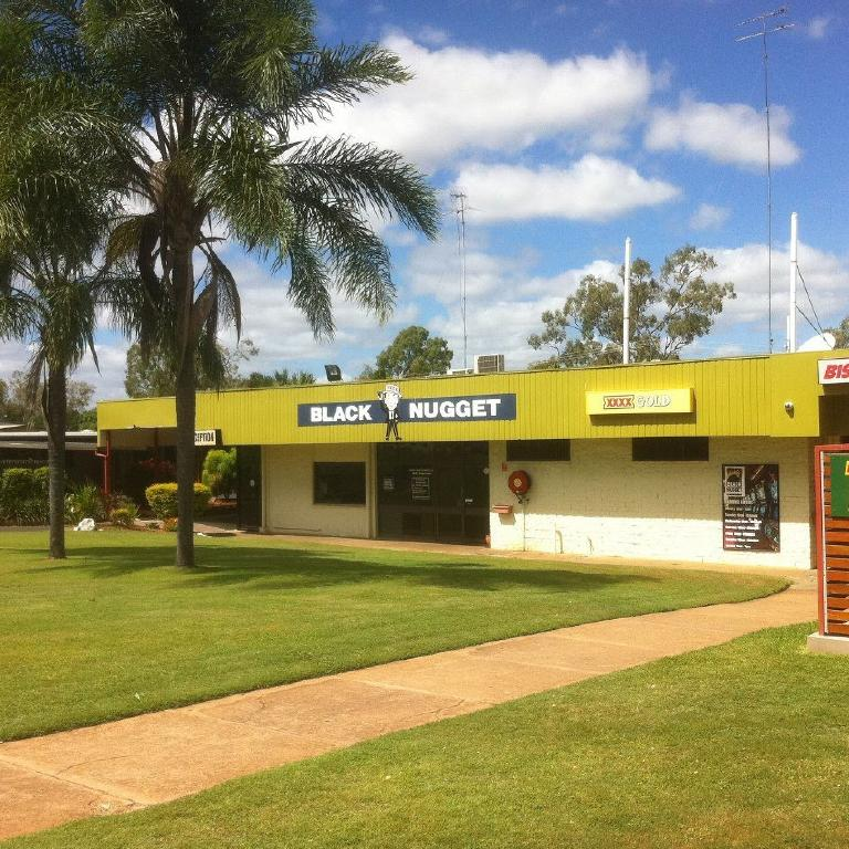 The Black Nugget Hotel, Moranbah.