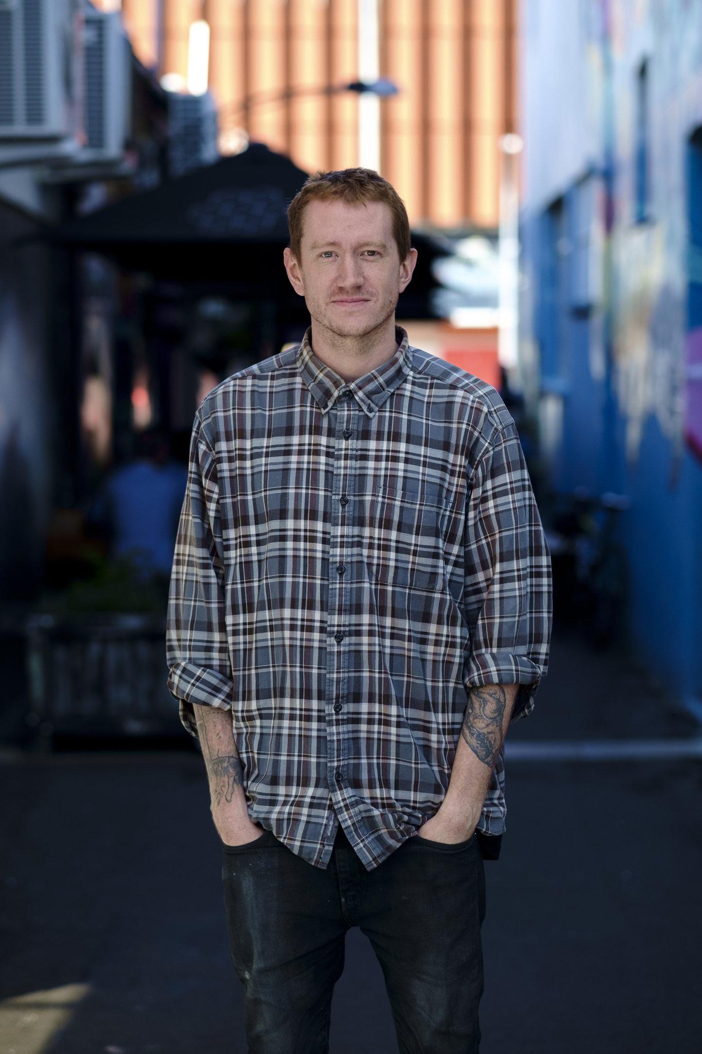 Toowoomba artist Dan Elborne.