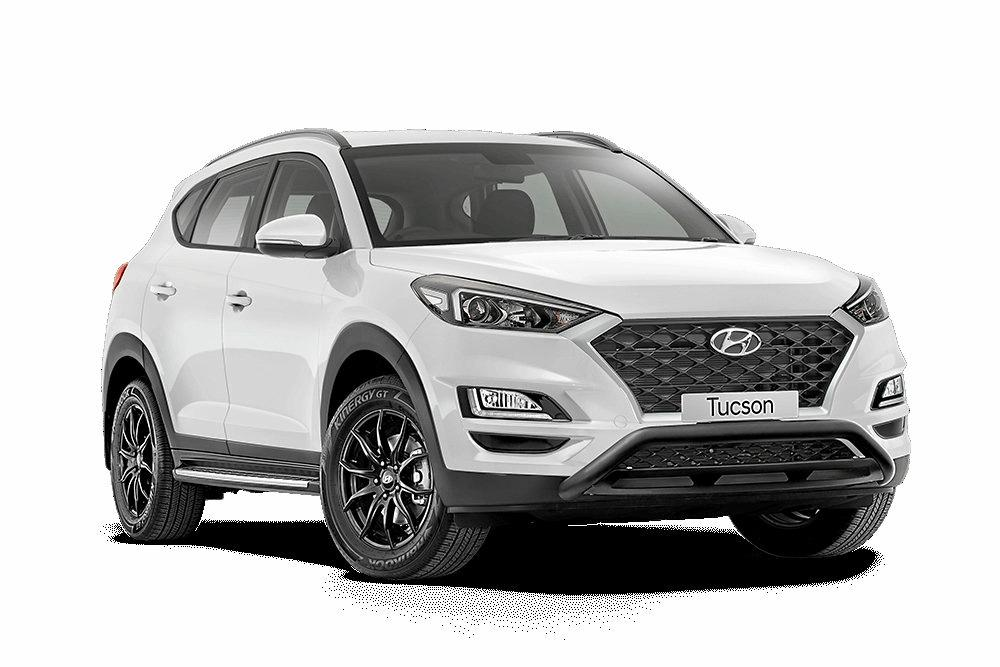 The Hyundai Tucson Style that has more than $3000 worth of accessories.