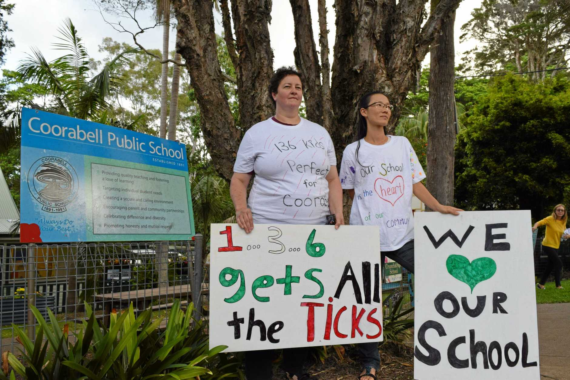 Coorabel Public School P&C Association have been forced to start a fundraising campaign to pay the wages of one of the school's beloved teachers in response to new regulations by The Department of Education which will radically reduce the size of the school.