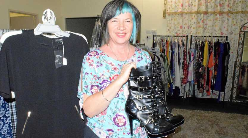 OUT WITH THE OLD: Kariboe St Collective manager Josie Rigney has some great last-minute bargains before the Sassy Seconds section closes down.