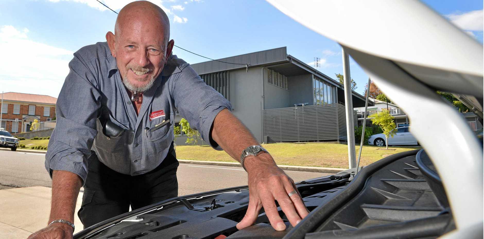 ON BOARD: Roadcraft senior educator Bruce