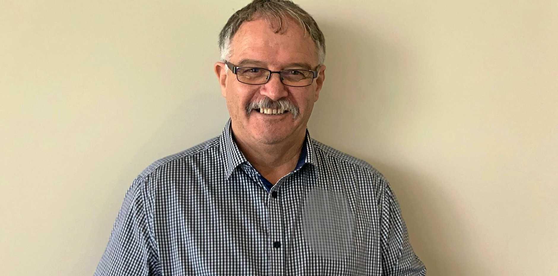 Australian distributor of the Icebreaker product Brian Crawford.