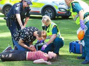 Crash scenario raises awareness for students