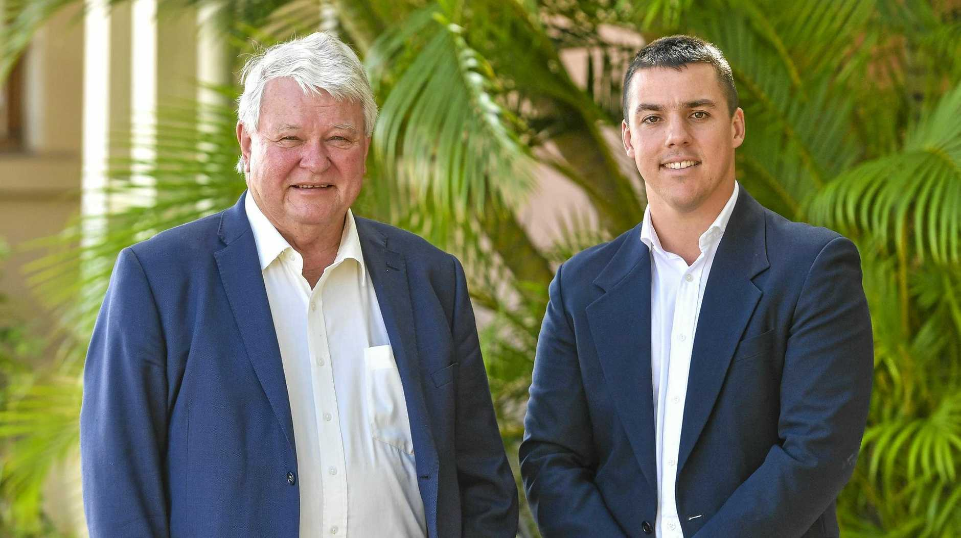 OVERHAUL NEEDED: LNP Member for Flynn Ken O'Dowd and Labor candidate for Flynn Zac Beers continue to lock horns over the issue of wage casualisation.