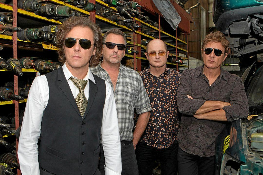 The Hoodoo Gurus have gone through a number of band members over the years. Lead singer Dave Faulkner is the only original band member left.