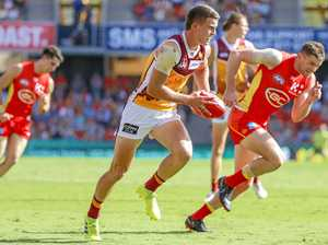 Brisbane Lions make it easier for Berry dad