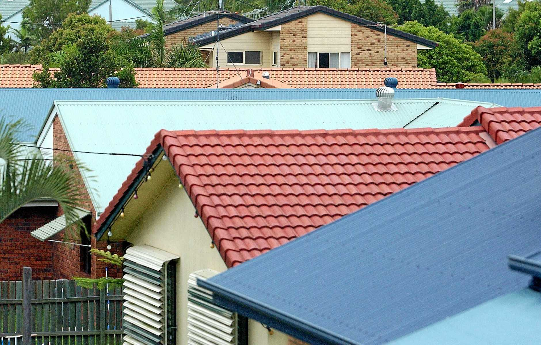 Suberban House Roofs Photo: Brett Wortman / Sunshine Coast Daily