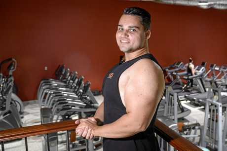 Gladstone-based online gamer Matt Gregory, known online as Anthropic, has lost 35kg since starting a weight lifting and weight loss program in June 2018.