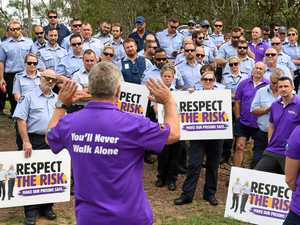 Jail staff strike over work offer