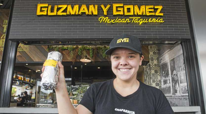 MEAL DEAL: Camila Escovar from Guzman Y Gomez is ready for the Cinco de Mayo celebrations on Sunday.