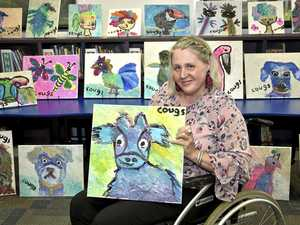 'Cougs' ready for first art exhibition