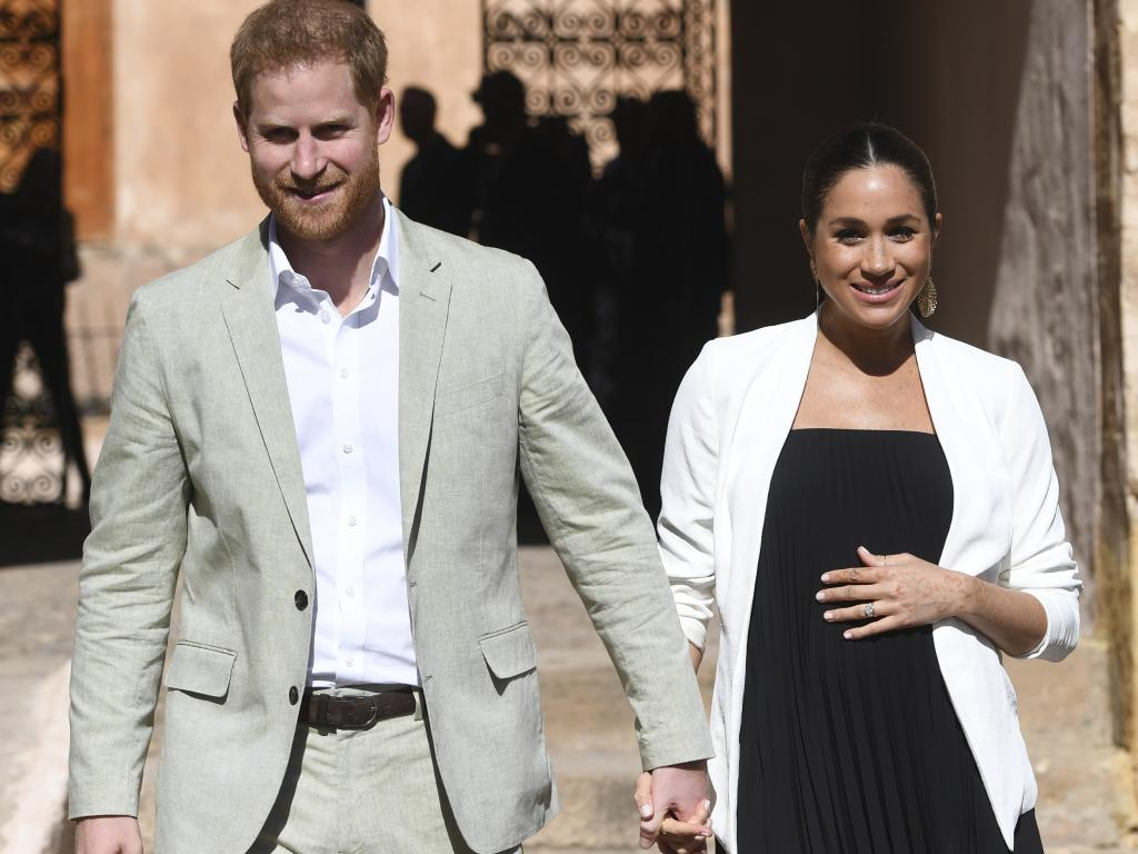Britain's Prince Harry and Meghan, Duchess of Sussex. Picture: AP