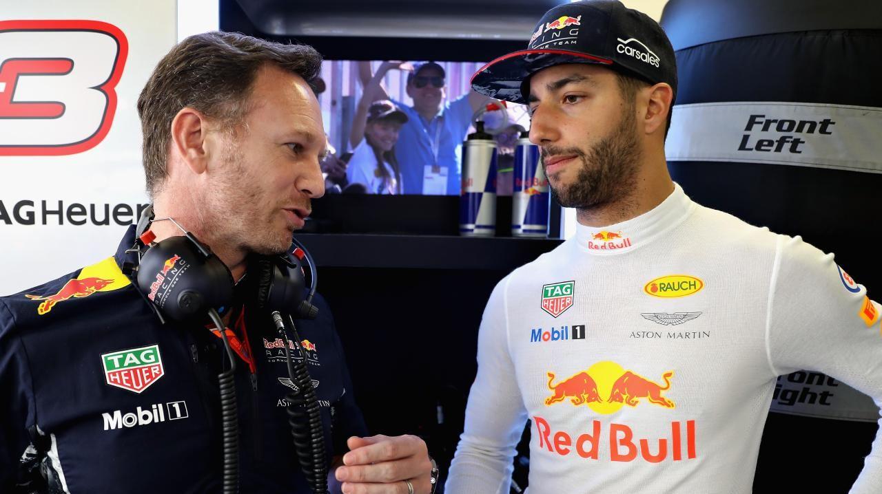 Daniel Ricciardo's old and new boss don't really get along.