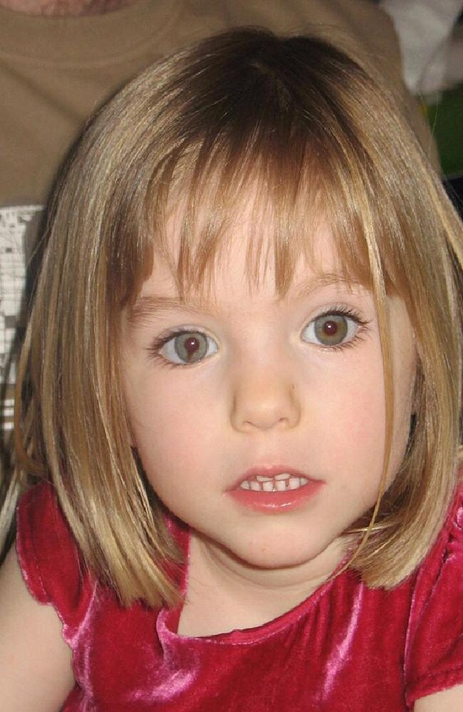Maddie McCann vanished 12 years ago, and Portuguese police are reportedly now seeking an alleged foreign 'paedophile' in connection with the disappearance. Picture: AP Photo/PA, File