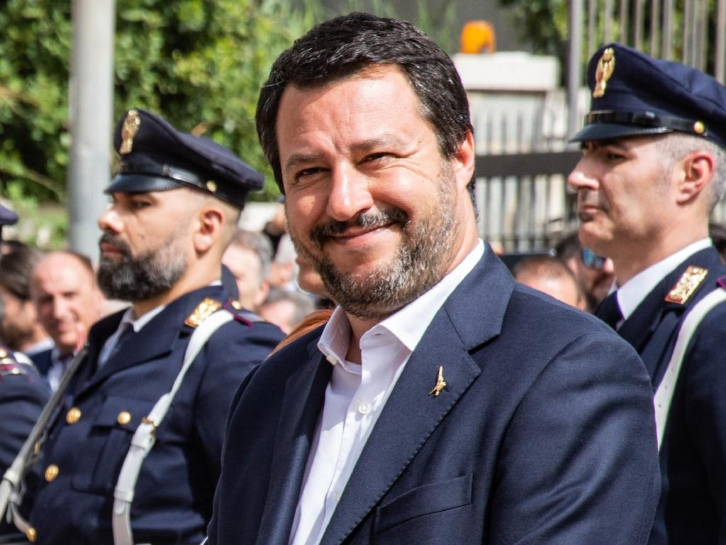 Italian Deputy Prime Minister and Interior Minister Matteo Salvini was in Sicily last week, visiting supporters