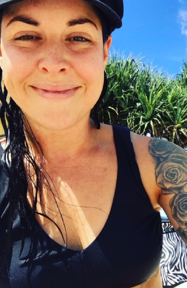 She is now a project manager for a construction company in Sydney and while her employer doesn't have a problem with her tats, she still cops flak from male clients.