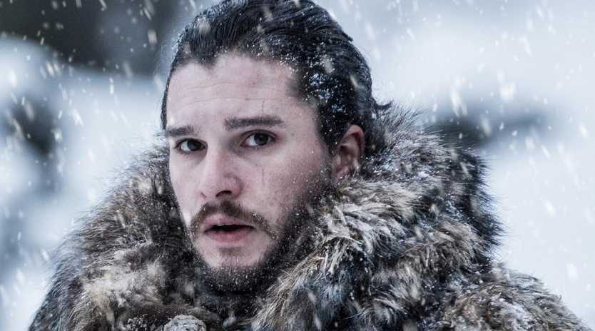 Game of Thrones Kit Harington as Jon Snow. Picture: HBO