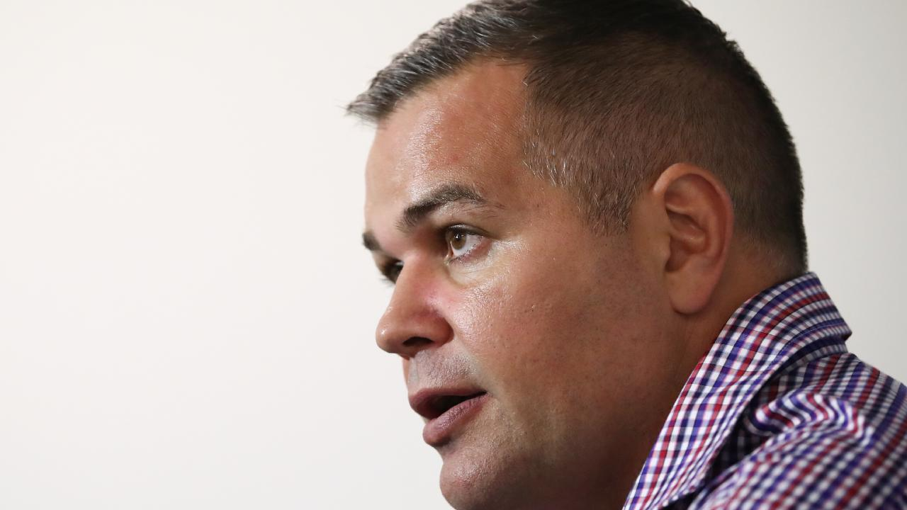 It's back to the drawing board for Anthony Seibold.