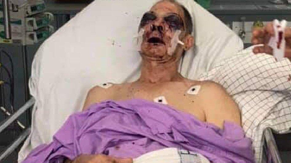 Prison officer 'Greg' under observation in hospital
