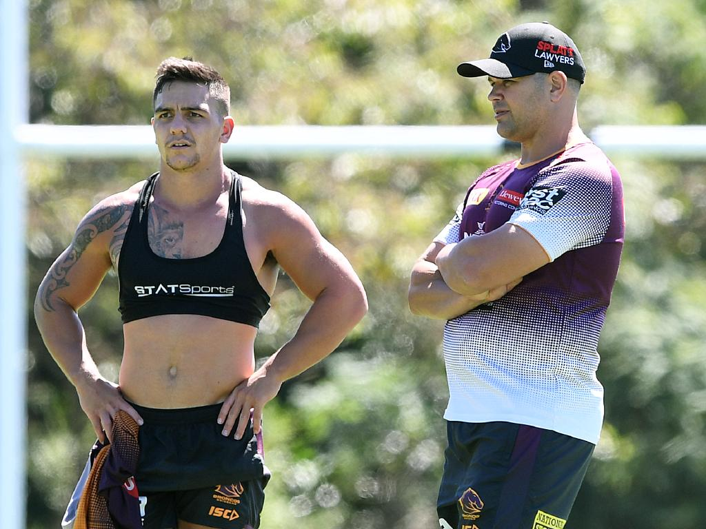 Nikorima wasn't in Seibold's plans.